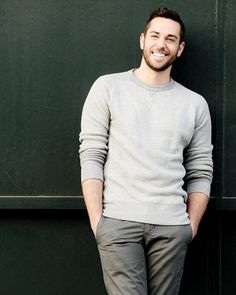 Zachary Levi, so freaking cute all the time!