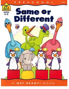 Ebooks for children and more (My password: children09): [Fshare] Same or Different (Preschool Ages 4 - 6)