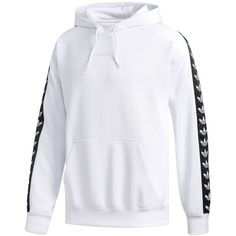 adidas Men's Originals Tnt Hoodie ($80) ❤ liked on Polyvore featuring men's fashion, men's clothing, men's hoodies, white, mens hoodies, mens white hoodie, mens hoodie, mens hooded sweatshirts and mens sweatshirts and hoodies