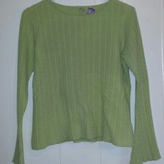 Selling this ONE GIRL WHO 100% Cashmere Medium green sweater in my Poshmark closet! My username is: pattylsanders. #shopmycloset #poshmark #fashion #shopping #style #forsale #One Girl Who #Sweaters