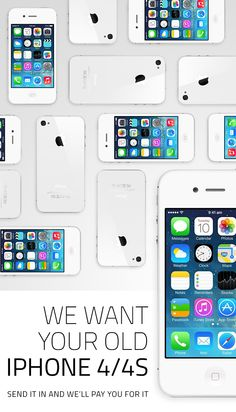 Get paid for your old iPhone 4 or 4s through www.ePelican.com.