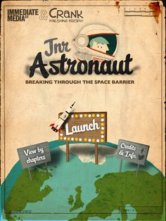 Jr. Astronaut for iPad. Great way to learn about Space travel.