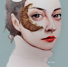 Ana Santos o cuando el arte de la ilustración nos robó el corazón #illustration #design