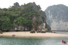 Beach on Halong Bay