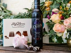 "Ultimate Collection's Death by Chocolate. A beautifully rich smooth chocolate ganache in a dark chocolate shell.  Paired with…   Kir. Tesco finest Crème de Cassis, £9.00, Tesco, and Laurent Miquel Nocturnes Viognier, £8.99, Waitrose (or any similar white wine)  ""Kir (formerly known as Blanc-Cassis) is dry white wine with a dash of Crème de Cassis de Dijon, an aromatic dark blackcurrant flavoured liqueur. The luscious dark fruit flavour dovetails sublimely with this decadently rich dark…"
