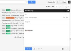 Gmail – New Compose and Reply Experience