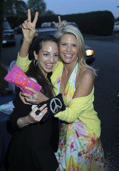 Christie Brinkley Gemstone Inlaid Clutch - Christie Brinkley Looks - StyleBistro