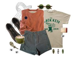 hit the road jack by themoor on Polyvore featuring American Apparel, Converse and Religion Clothing