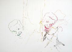 Masken VI, aus der Serie von Jens Kunik aus dem Jahr 2002