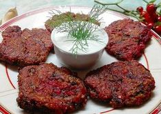 Mennyei céklás tallér Vegas, Torte Cake, Potato Recipes, Meatloaf, Steak, Pork, Food And Drink, Potatoes, Vegetarian