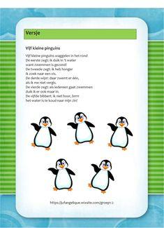 Versje: 5 kleine pinguins