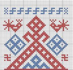 Славянские обереги - схемы вышивки. Семья. — Славянская культура