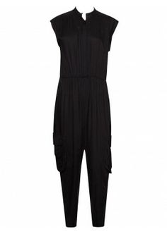 DYLAN GATHERED JUMPSUIT by Alice + Olivia