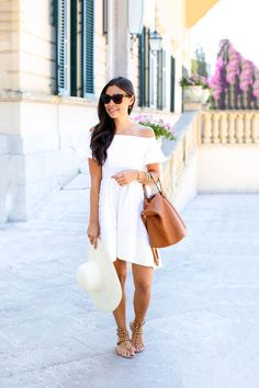 Villa Sant' Andrea - Tibi dress c/o // Meli Melo bag Valentino sandals // Reiss hat Celine sunglasses // Julie Vos rings Friday, July 17, 2015