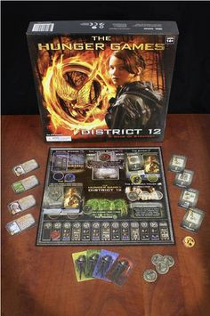 I WANT this!!!!! The Hunger Games District 12 Game of Strategy. for you @Milicent Gazan Fritts