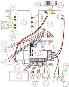 dc power supply 0 30v 5a adjustable regulator eleccircuit rh pinterest com