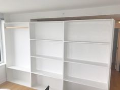 Custom Bookcase Wall With Pocket Door Call Us For All Your Room Partition And