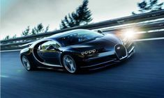 World's fastest car : Bugatti Chiron 2017, 288 MPH