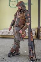 Postapocalyptic scout outfit by Time Vehicle