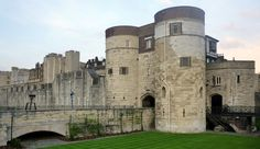 The Byward Tower. This is where Anne Boleyn was brought to The Tower after her arrest at Greenwich May 02,1536. Sir Edmond Walsingham, Sir William Kingston's deputy met her there.
