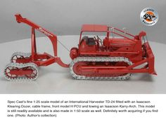 """During WWII Isaacson made propeller shafts and rudder posts for US Navy """"Liberty Ships"""" and were recognized by the US Government for their quality work. Steam Boiler, Tractor Attachments, International Harvester, It Cast, Scale Model, Arch, Cable, Frame, Model Building"""