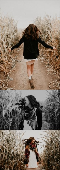 Boise Senior Photographer // Makayla Madden Photography // Idaho Farmstead // Corn Maze // Fall Senior Outfit Ideas Inspiration // Pumpkin Patch // Senior Photography // Senior Pictures // Senior Girl // Fall Aesthetic // Posing Ideas // Fall Portraits //