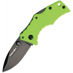 Micro Recon Blade (Orange) Micro Recon Blade (Orange) Blade length: in. Overall length: in. Blade material: AUS Handle material: Griv-Ex Features: no pocket clip Edc, Wake Up Now, Tactical Knives, Tactical Gear, Combat Knives, Fire Powers, Cold Steel, Fixed Blade Knife, The Selection