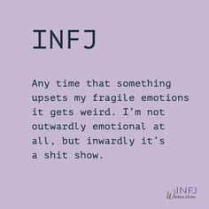 Or behind closed doors Myers Briggs Personality Types, Infj Personality, Infj Infp, Enfj, Infj Quotes, Personalidad Infj, Infj Type, Fun To Be One, Feelings