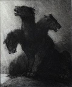 Cerberus--Many headed dog that guarded the gateway to the Underground