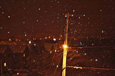 looks like electric snow. love it.