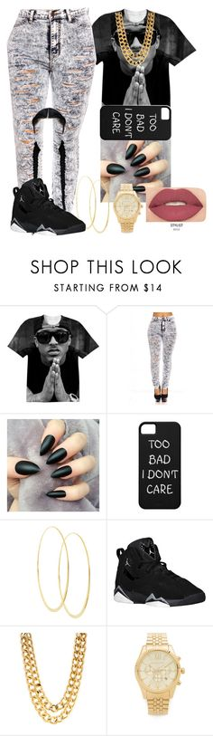 """sssssssssh i dont care"" by fashionismypashion476589 ❤ liked on Polyvore featuring Lana, Michael Kors and Smashbox"