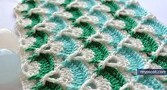 MyPicot | Free crochet patterns GREAT instructions on this site for some pretty amazing stitches~!~