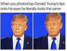 meme trump eyes