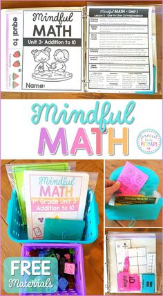 Mindful Math Curricu