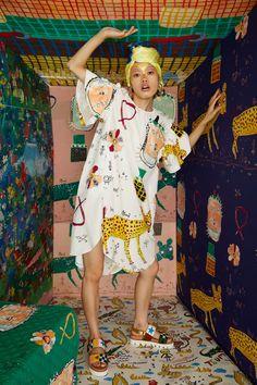 Tsumori Chisato Prêt-À-Porter Printemps-Été 2021 - Défilés | Vogue Paris Vogue Paris, Vogue India, Quirky Fashion, Cool Style, My Style, Fashion Show, Fashion Trends, Women's Fashion, Stylish Outfits