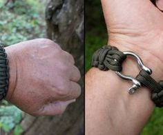 Paracord Bracelet Instructions: with bow shackle