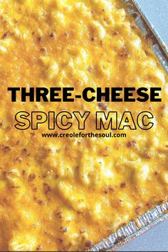 Cheddar Cheese, Macaroni And Cheese, Creole Recipes, Glass Baking Dish, Melted Cheese, Holiday Recipes, Cravings, Spicy, Favorite Recipes