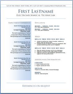 resumes the best resume template free sample and job description position best 7 free