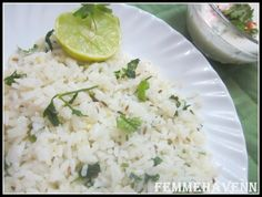 Cilantro lime fried Rice  #ricedish #ricerecipes #cilantro #corianderdishes #lemon