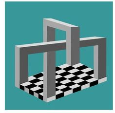 Four Corners Of Chess. http://www.illusionspoint.com/illusions/3d-optical-illusion/page/2/