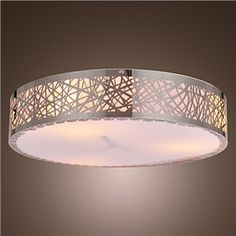 Ceiling Light with 3 Lights in Round