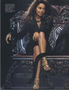 Janet Jackson. OMG! Those shoes!
