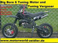 Dirtbike Tuning Racing Pocketbike Crossbike Cross Dirt Pocket Bike 49 ccm cc