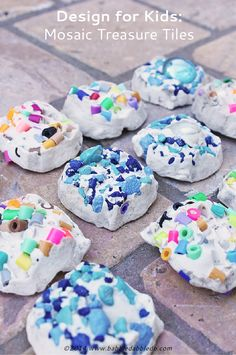 Art project for kids :: Plaster of Paris projects. This would be a great summer project!!