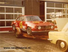 Alfa Romeo 1300 GTA Toine Hezemans