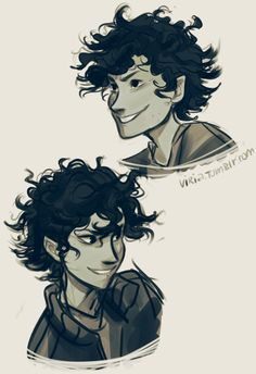 so, to be honest I felt like my Leo's hair was not curly enough for a while now, and Minuiko's ask finally got me into trying to draw him with his hair more curly, and less wavy. I still tried to keep the main shape his hair had originally though:3...