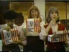 Chip Fields - Kentucky Fried Chicken (1984) Kentucky Fried, Old Tv, Tv Commercials, Kfc, Back In The Day, Old Pictures, Fried Chicken, Ronald Mcdonald