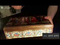 Как сделать декупаж шкатулки в стиле шебби-шик своими руками? В этом мастер-классе мы украсим деревянную шкатулку в технике декупаж. Эта винтажная шкатулка в...