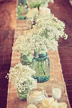 Mason Jar Wedding Ideas - http://www.michellejamesdesigns.com