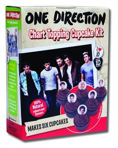 good one direction merchandise | ... One Direction cupcake making kit, we grabbed the opportunity to find